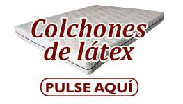 colchon latex boton